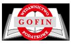 GOFIN Wydawnictwo Podatkowe
