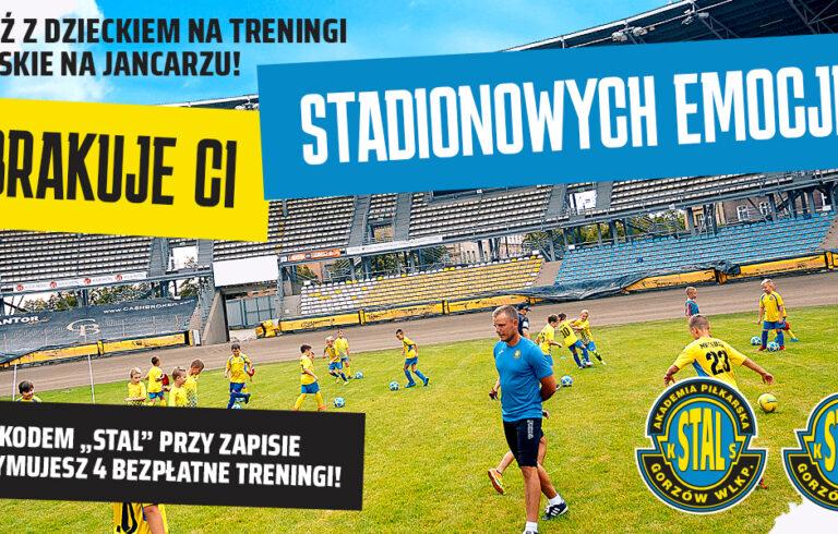 Wracamy na stadion! Zapraszamy na treningi piłki nożnej na Jancarzu!